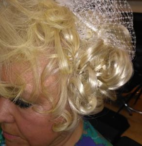Wedding parties, wedding hair, hair stylist