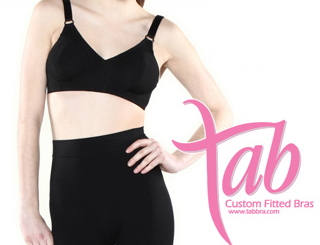 Tab custom Fitted Bras